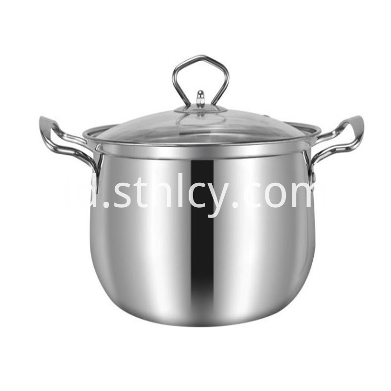 Korean Kitchen Soup Pot Five Piece Set