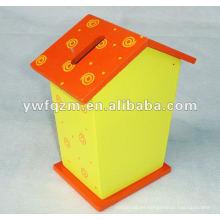 caja de almacenamiento de dinero en efectivo delicada y bonita para la promoción