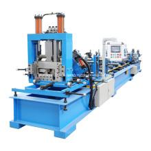 Mudança rápida automático CZ terça rolo dá forma à máquina