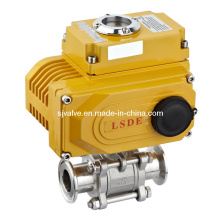 3-PC Ball Valve with Actuator (valvula)