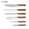 6pcs Kitchen Professional Chefmesser Set Küche