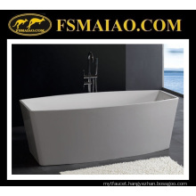 Corian Solid Surface Freestanding Bathtub (BS-8618)