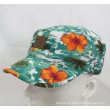 2016 Мода Цветочные Военная шапочка Бейсболка (MH-080064)
