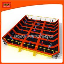 Jeux de basket-ball de trampoline aquatique professionnel Bungee Bungee