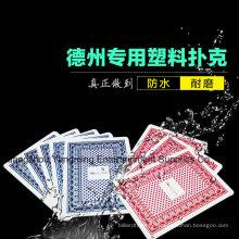 Техасский покер Пластиковые игральные карты (Юм-PC02)