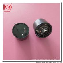 Caja de aluminio Tipo abierto Sensor ultrasónico Transmisión y receptor