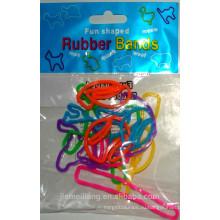 JML Хорошее качество Fun резиновые Band животных Форма резиновая лента с различными цветами