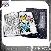 A4 page nouveau tatouage flash design, livre de tatouage avec différentes images de dessin, livre de croquis de tatouage de fantaisie