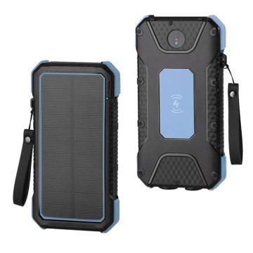 Meilleur chargeur solaire portable Chargeur sans fil solaire