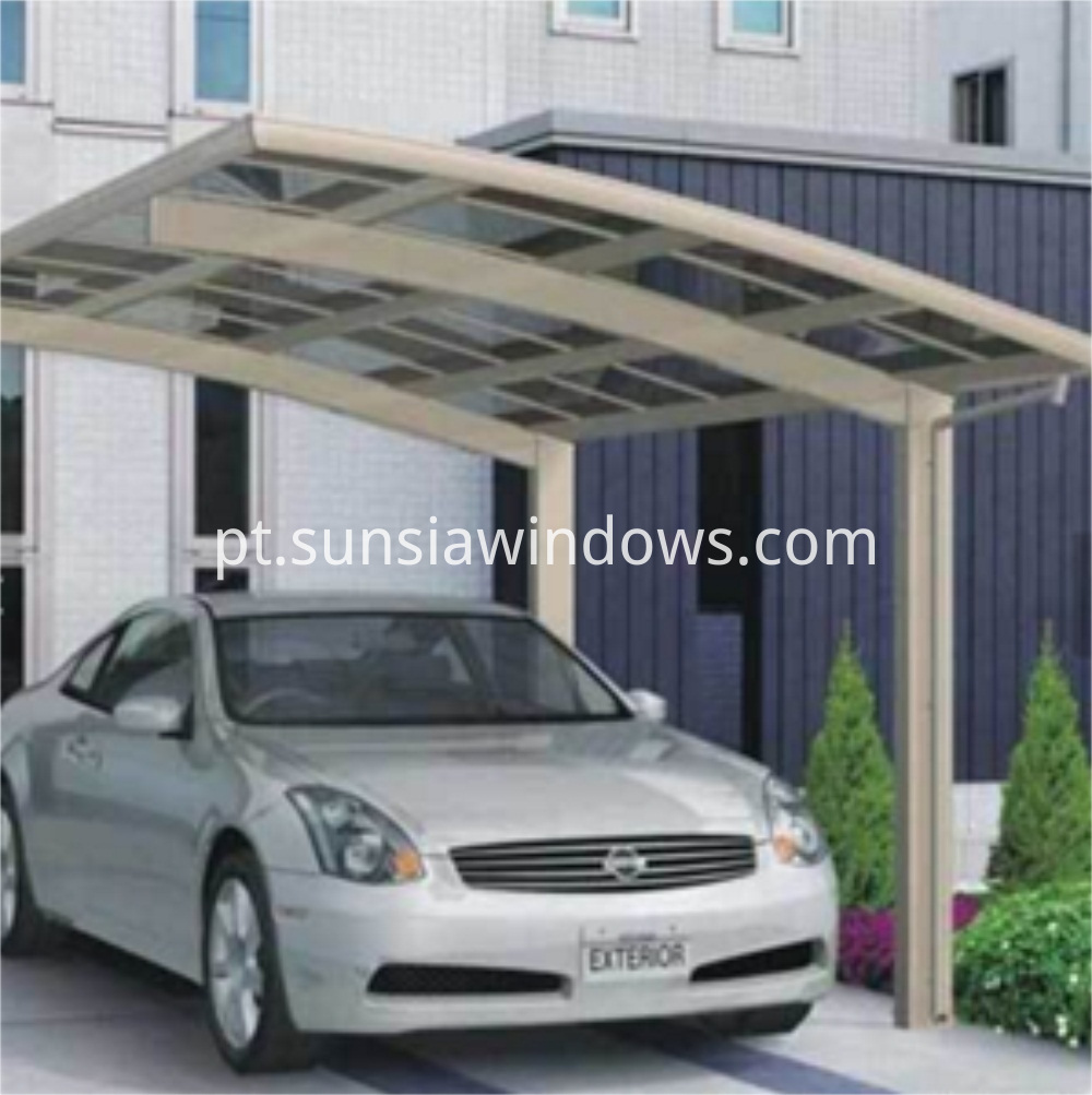 Aluminum Protective Car Shelter