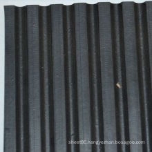 Wide Ribbed Anti-Slip Rubber Mat for Flooring
