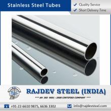 Tubo de acero inoxidable con óptimas propiedades terminadas y duraderas a granel precio
