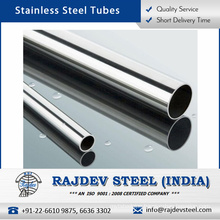 Stainless Steel Tube with Optimum Finished and Durable Properties at Bulk Price