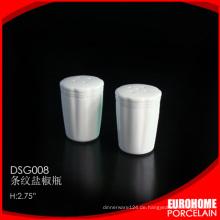 Neue China-Produkte für Verkauf Porzellan Keramik Salz- und Pfefferstreuer
