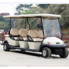 2016 electric 8 lugares carro de golfe retro antigo