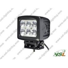 5 Inch 6PCS*10W CREE 60W LED off Road Fog Light Waterproof High Power for Truck