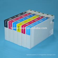 Д700 6 цвет совместимый патрон чернил для Epson чернила картриджи для Epson д700