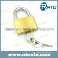 Cadeado de bronze pesado com chave mestre