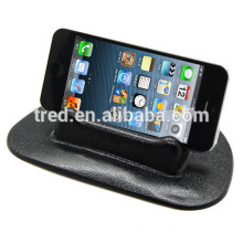 accesorios diseño interior PU gel adhesivo teléfono inteligente coche titular