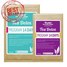 Organic Herbal Detox Tee Abnehmen Tee Gewichtsverlust Tee (14 Tage Detox-Programm)