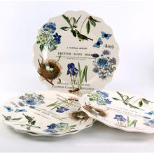 (BC-PM1005) Fashionable Design High Quality Reusable Melamine Plate