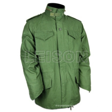 Military Coat with ISO Standard T/C or N/C