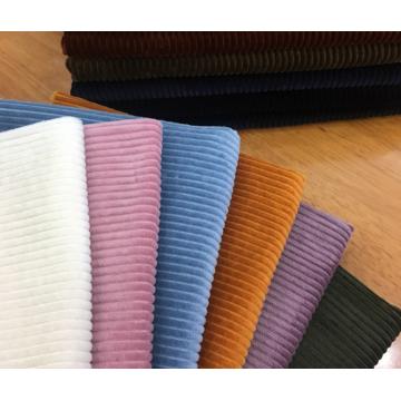 Tecido 100% algodão Wide 4.5 Wales veludo cotelê 12 * 16/64 * 128