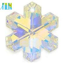 wholesale high quality crystal snowflake pendant
