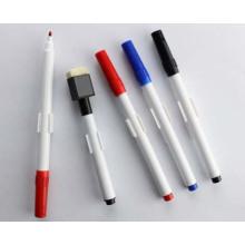 Простой маркер белого доски с кистью