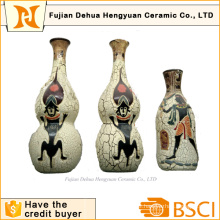 Exotic Flavor & Indian Style Ceramic Vase for Decoration