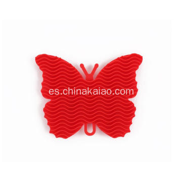 Nuevo Butterfly Design Dish Easy Cleaning Brush Scrubber