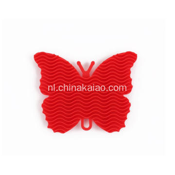 Nieuwe Butterfly Design Dish Easy Cleaning Brush Scrubber