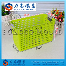 Injeção Plástica Fruit Basket Mould Fabricante
