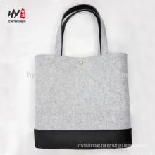 high quality custom logo felt bag print