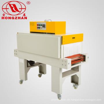 Schrumpfen Sie Pack Maschine schrumpft Tunnel Wärme Umhüllung Verpackungsmaschine für POF PVC PE Film mit Dichtungsmaschine versiegelt