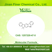 Cas 1257220-47-5 | 5,7-Dihydro-7,7-dimethyl-indeno [2,1-b] carbazol | Aufrechtzuerhalten 1257220-47-5 | Fabrikpreis; Großer Vorrat