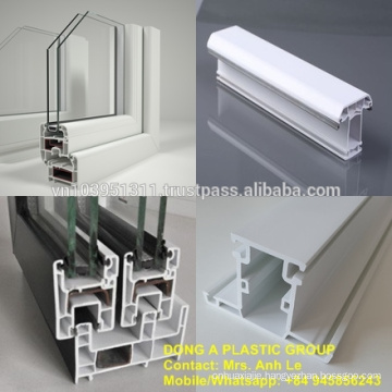 uPVC profile for door and window - Dong A Plastic Group