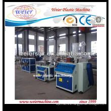 electrical wire conduit PP PE PVC corrugated pipe machine