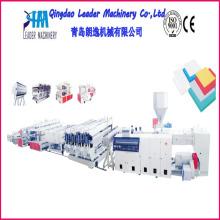 Máquina de producción de pánel de espuma PVC WPC