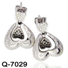 Los últimos estilos Pendientes 925 joyería de plata (Q-7029)