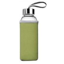 Bouteille d'eau de verre de 550 ml, bouteille en verre, tasse à thé en verre, bouteille de filtre à thé