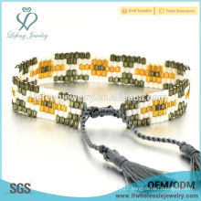 Wild popular bohemian bridal jewelry diy seed bead bracelet lucky beads bracelet