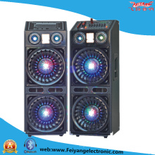 Double 10′′ Professional Stage Speaker with Crystal Ball Light F623