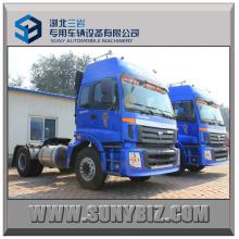 270HP Günstige Foton Auman 4X2 Container Trailer Traktor Head Truck