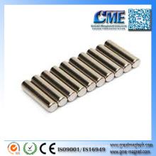 N42 Magnetstärke Zylindrische Magnete Großhandel