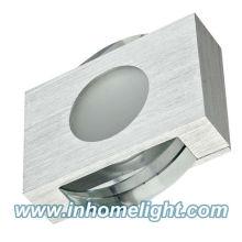 Lumière de plafond carrée 1W Matériau en cristal