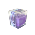 Mewah Flameless Scented Paraffin Pillar Glass Candle