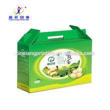 Plateau ondulé fait sur commande de boîte de carton de carton d'oeufs pour l'emballage d'oeufs
