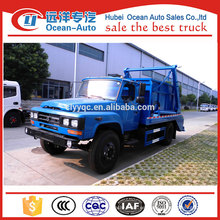 Dongfeng precio barato 4x2 brazo hidráulico camión de basura