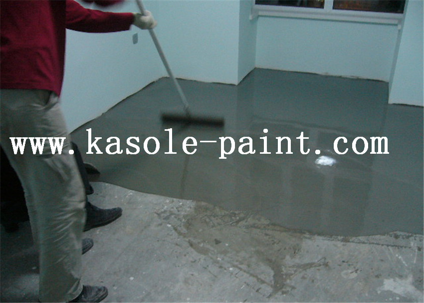 self leveling cement floor